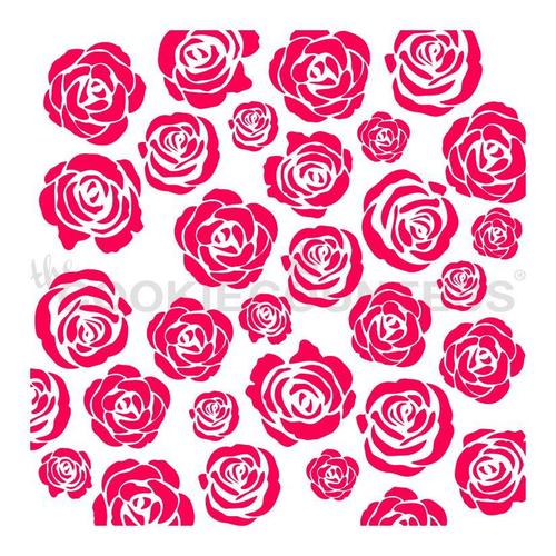 TCC Rose Garden Stencil STN-0640