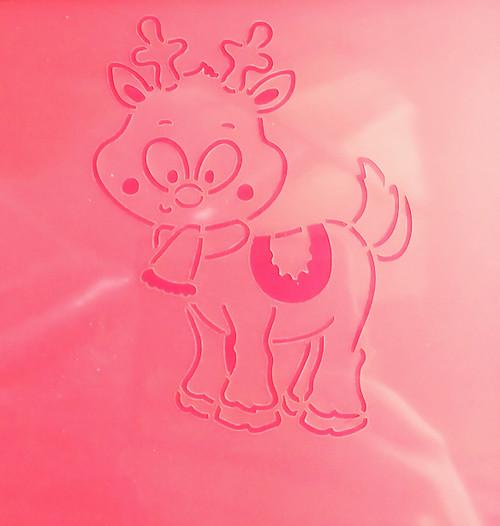 TCC Reindeer PYO Stencil STN-0122