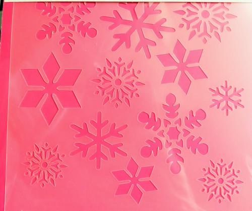 TCC Snowflakes 2 Stencils STN-0024