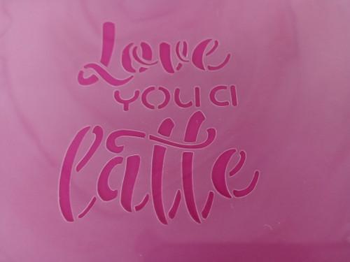 TCC Love You a Latte STN-1117
