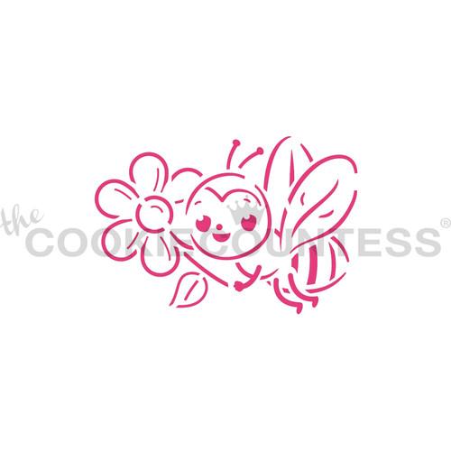 TCC Bee PYO Stencil STN-1104