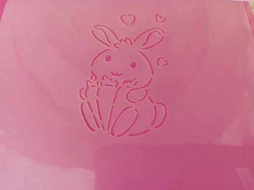 TCC Bunny Love PYO Stencil STN-0931