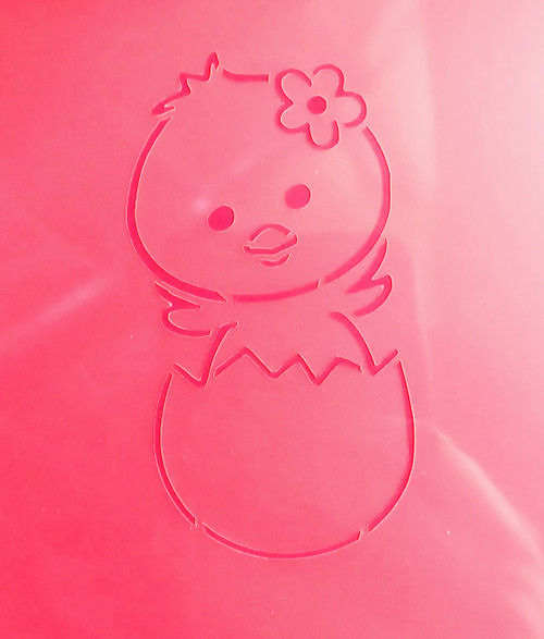 TCC Baby Chick PYO Stencil