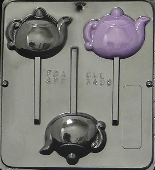 CML TeaPot Pop Chocolate Mold 3408