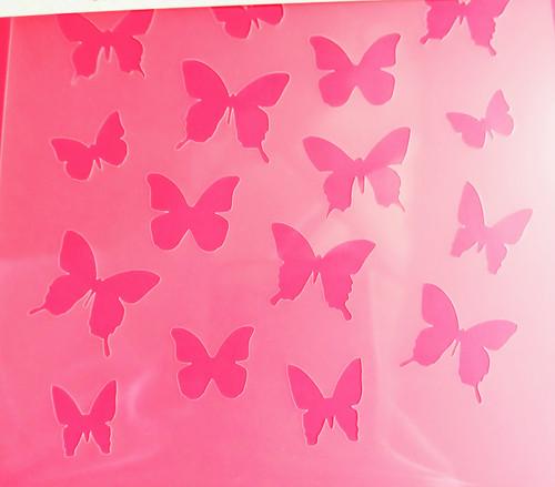 TCC Butterflies Stencil