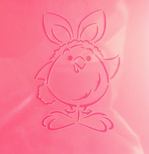 TCC Chick in Bunny Costume PYO Stencil