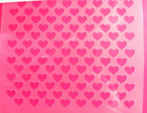 TCC Tiny Hearts Stencil