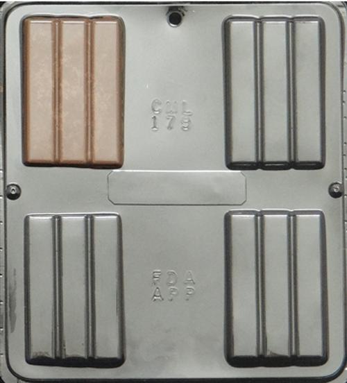 CML Chocolate Bar Chocolate Mold 179