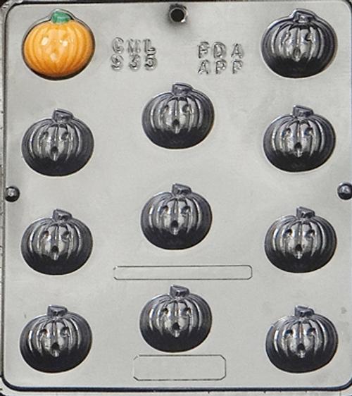 CML Pumpkin Jack O Lantern Chocolate Mold 935