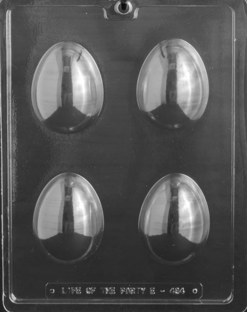 LOTP 3in 3D Egg Chocolate Mold E484