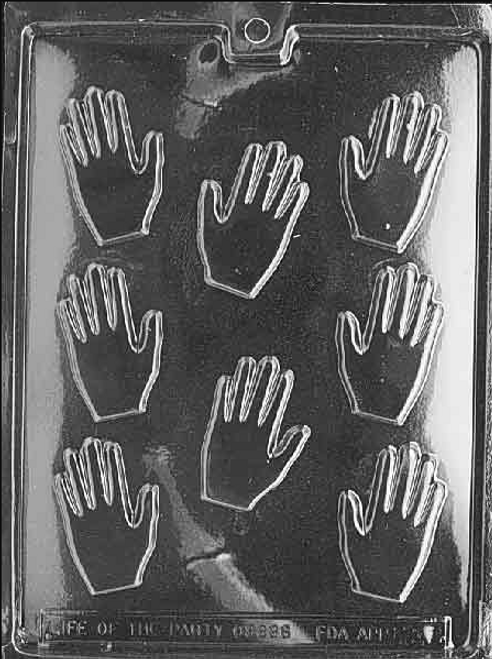 LOTP Small Hands Chocolate Mold M022