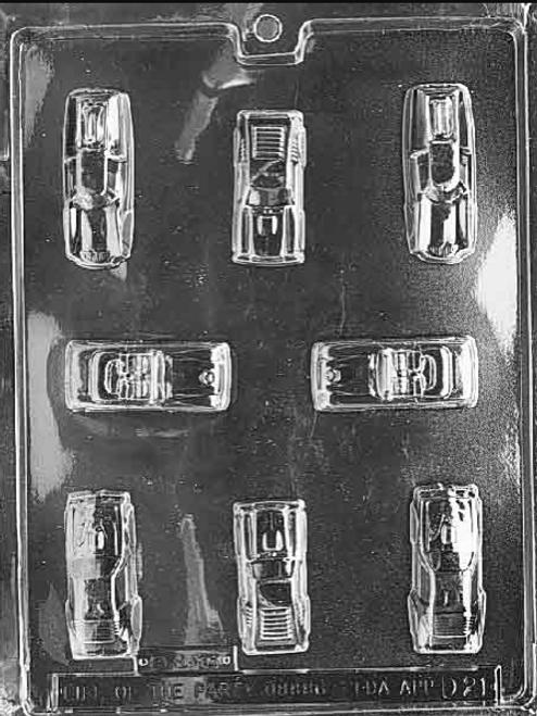 LOTP Cars Chocolate Mold D021