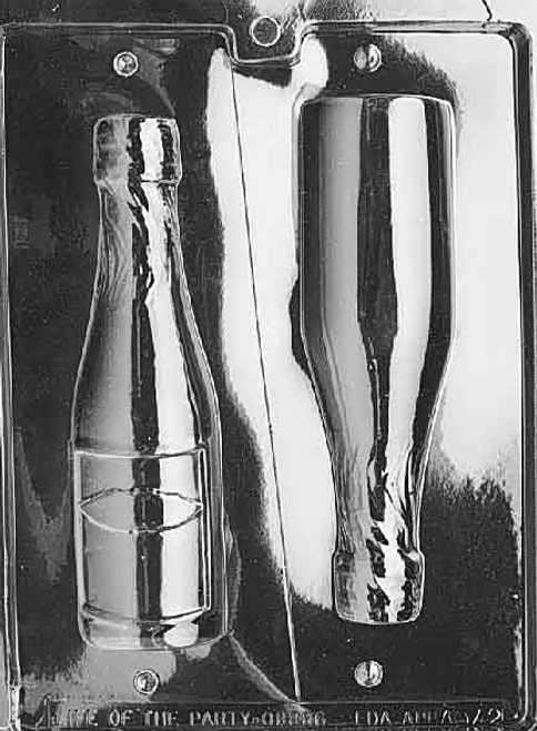 LOTP Large Champagne Bottle Chocolate Mold AO042