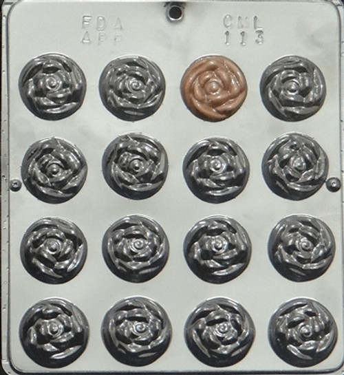 CML Rose Mint Chocolate Mold 113