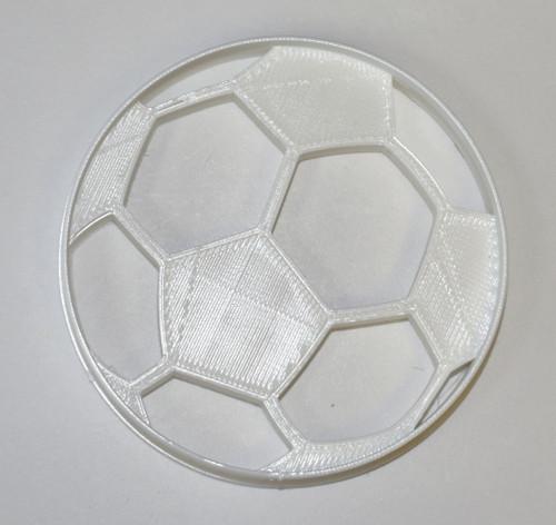 YNG Plastic Soccer Ball Cookie Cutter PR698