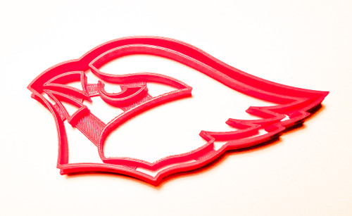 YNG Plastic AZ Cardinals Logo Cookie Cutter PR944
