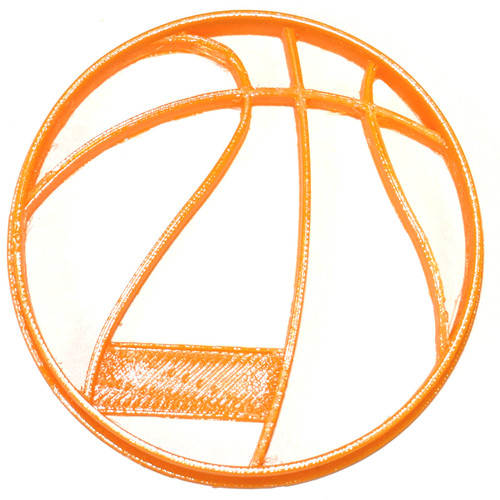 YNG Plastic Basketball Cookie Cutter PR812