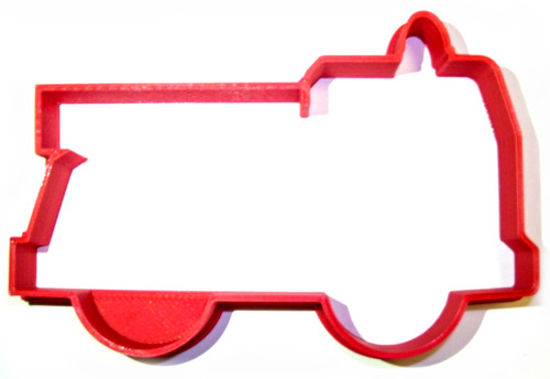 YNG Plastic Fire Truck Cookie Cutter PR909