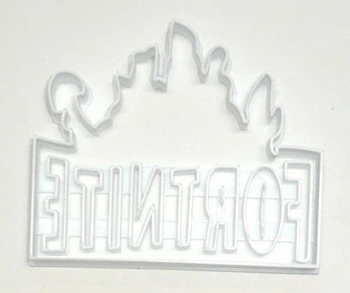 YNG Plastic Fortnite Cookie Cutter PR2674