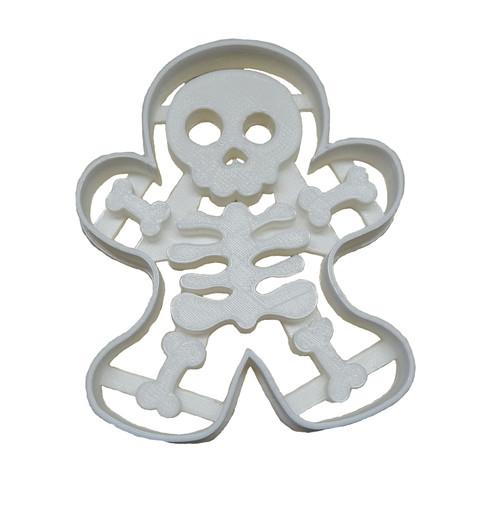 YNG Plastic Gingerbread Skeleton Cookie Cutter PR113