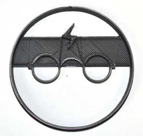 YNG Plastic Harry Potter Lightning Bolt Cookie Cutter