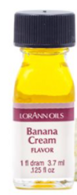 LA .125oz Banana Cream Flavor Dram 0250-0112