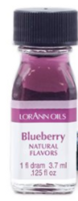 LA .125oz Blueberry Flavor Dram 0480-0112