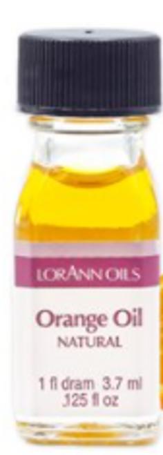 LA .125oz Orange Oil Flavor Dram 0060-0112