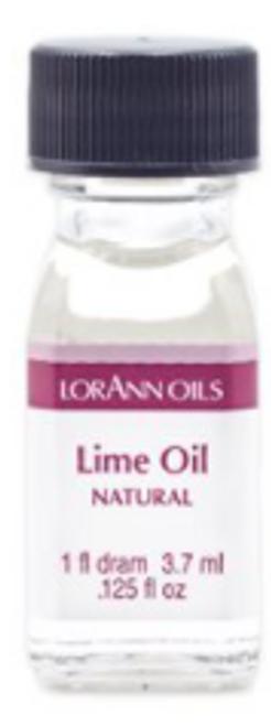 LA .125oz Lime Oil Flavor Dram 0110-0112