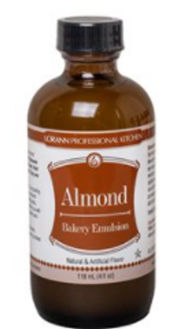 LA 16oz Almond Bakery Emulsion 0748-1000