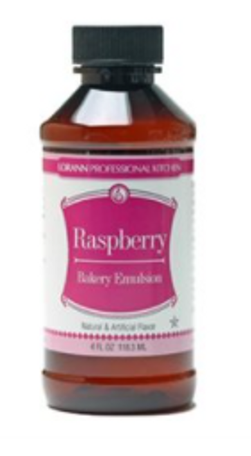 LA 16oz Raspberry Bakery Emulsion 0764-1000