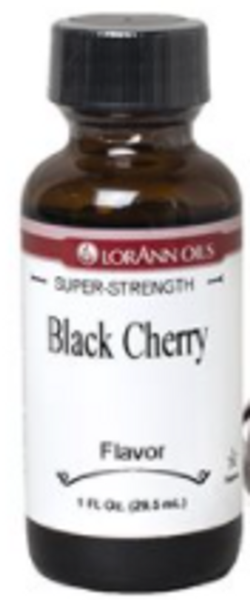 LA 1oz Black Cherry Flavor 0880-0506