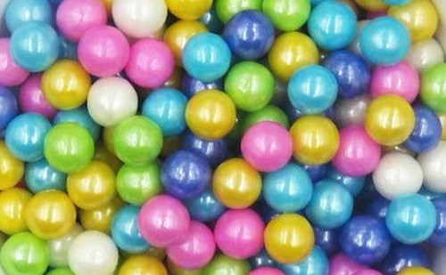 Mix 10mm Pearl Sprinkles 1lb Bag
