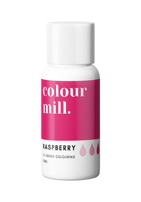 Colour Mill Raspberry 20ml Oil Based Food Coloring