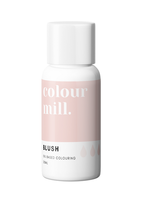 Colour Mill Blush 20ml Oil Based Food Coloring
