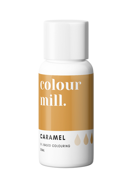 Colour Mill Caramel 20ml Oil Based Food Coloring
