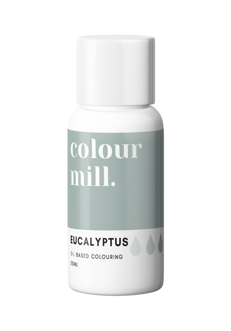 Colour Mill Eucalyptus 20ml Oil Based Food Coloring