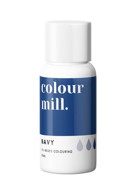 Colour Mill Navy 20ml Oil Based Food Coloring