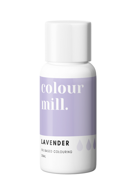 Colour Mill Lavender 20ml Oil Based Food Coloring