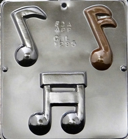 CML Music Notes Chocolate Mold 1295