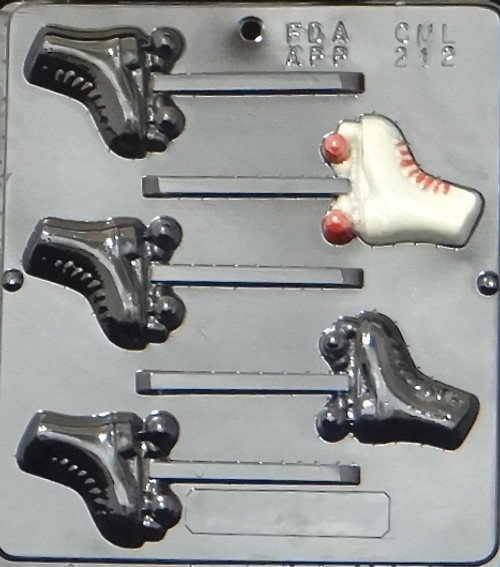 CML Roller Skate Pop Chocolate Mold 212