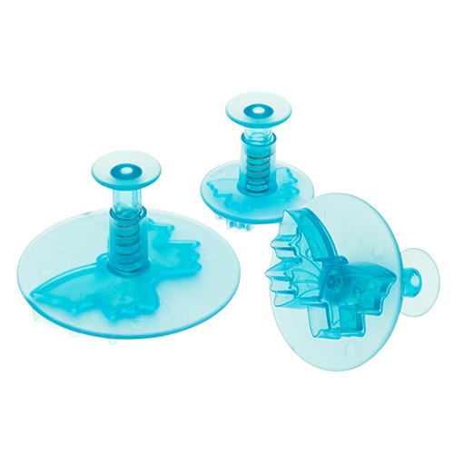 ATC 3pc Butterfly Plastic Plunger Cutter Set 1965