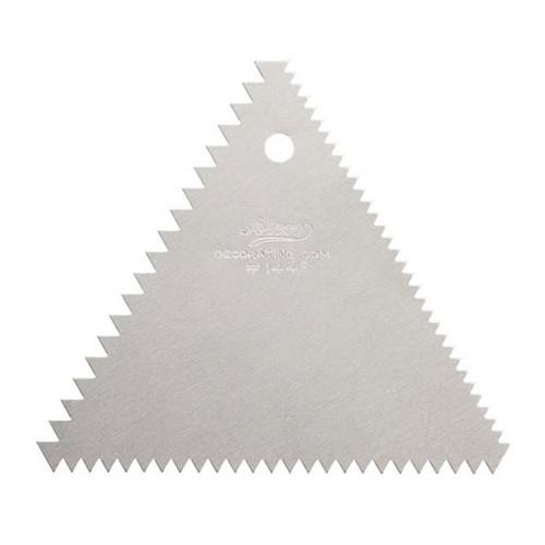 ATC Triangle Metal Decorating Comb 1446
