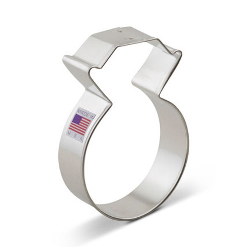 AC Diamond Ring Cookie Cutter 5574A