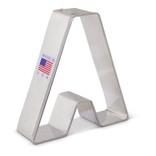 AC Letter A Cookie Cutter 8017A