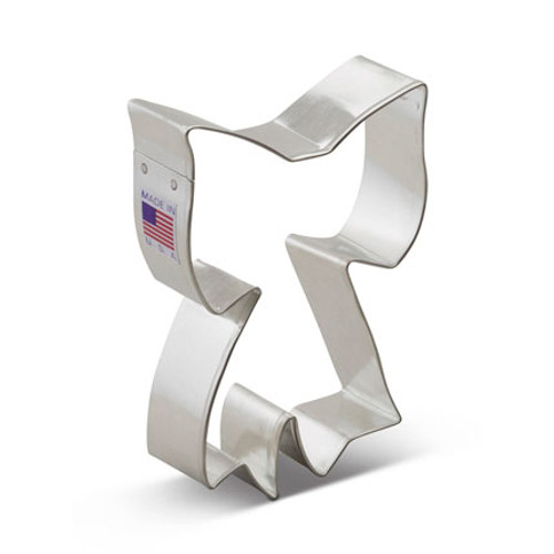 AC Ribbon Bow Cookie Cutter 1988A