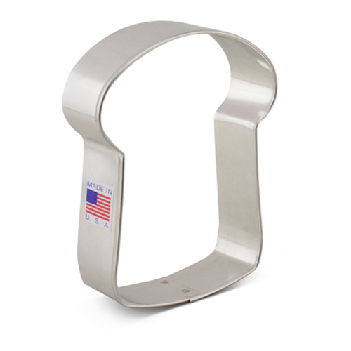 AC Slice of Bread Cookie Cutter 7562A