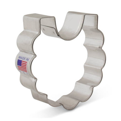 AC Baby Bib Cookie Cutter 7912A