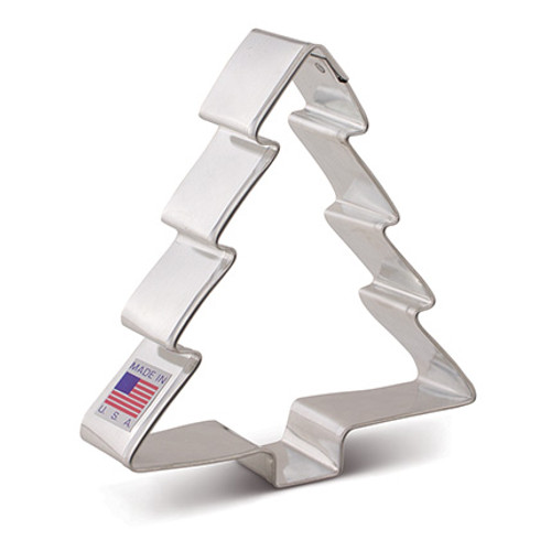 AC Christmas Tree Cookie Cutter 7079A