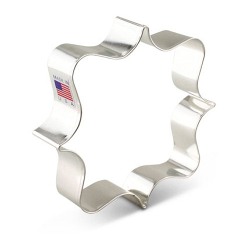 AC Square Plaque Cookie Cutter 7653A